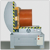 Electrically driven reel tilter Type EWV